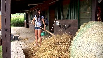 Megan nude Megan cox masturbates outdoors. see her getting hot in the hay.