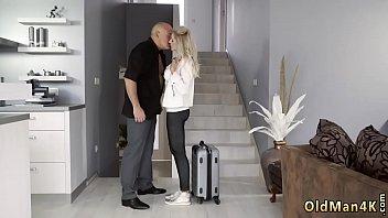 Blonde Teen Mes sy Blowjob Finally At Home, Fi lly At Home, Finally Alone