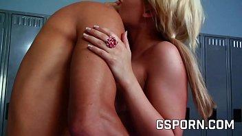 Gym blonde fucking thumbnail