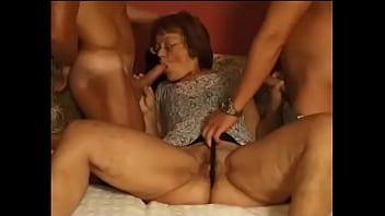 Hairy iitalian mature anal
