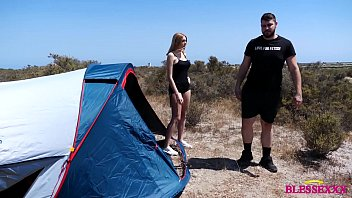 He fucks his friend while the girlfriend s. on a camping trip - Magic Javi & Manuel Scalco & Paola Hard