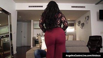 Latina BBW Angelina Castro Does 3Some With Roberta Gemma!