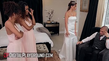 Streaming Video Bridesmaids (Demi Sutra, Desiree Dulce, Scarlit Scandal) eat pussy - Digital Playground - XLXX.video