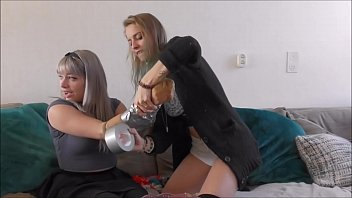two innocent teen girls try some bondage صورة