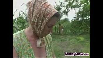 Forced anal grandma Grandma being fucked in the butt outside