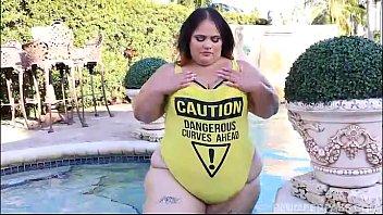 SSBBW Victoria Secret XXX Sucks and Fucks PoolSide