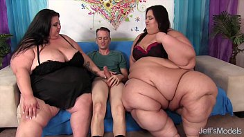 Ass bbws huge naked size super - Super tanker threesome