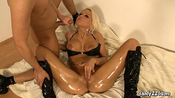 assfucking with hot latex wench
