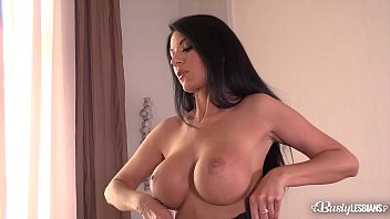 Busty lesbian upshots - Busty lesbians jasmine jae and ania kinski lick and finger their wet pinks