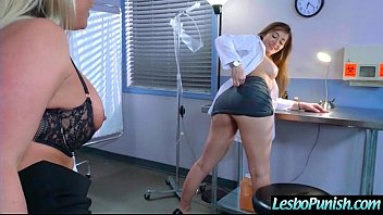 Hot Lez Girl (dani&phoenix) Get Punished By Mean Lesbo movie-15