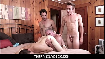 Twink Boy Stepson Marcus Rivers Family Pounding By Stepdad, Grandpa Dale Savage And Stepbrother