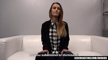 Submissive Model Became Noisy when Felt the Cock