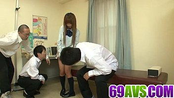 Japanese schoolgirl needs cock up her tight vag thumbnail