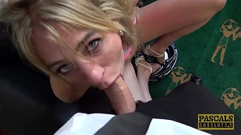 UK subslut assfucked hard and punished by powerful dom