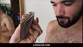 Gay military pay per view - Straight amateur latino hunk paid 10,000 pesos to get fucked by gay film maker pov