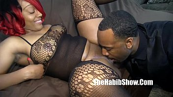 Freak show size cocks - Thickred taking that dick beat down freak nutmeg juices