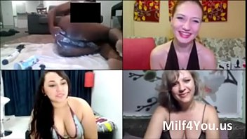 3 gorgeous milf and 1 guy make cam porn fun for milfs on Milf4You.us