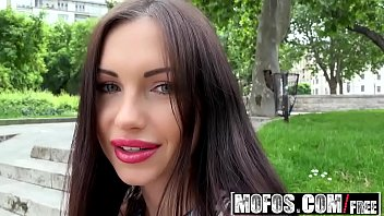 Mofos - Public Pick Ups - Russian Brunette Fucks Outdoors starring  Sasha Rose