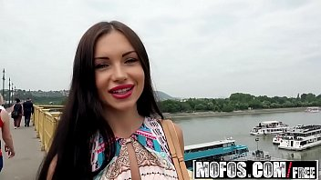 Mofos - Public Pick Ups - Russian Brunette Fucks Outdoors starring  Sasha Rose