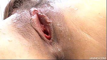 Should maried men masturbate - Submissive babe mari sasaki shaved and trimmed pussy toyed