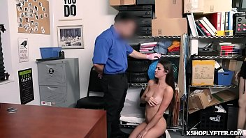 Kylie Rocket works out a deal with the officer offering her sexy body and tight pussy