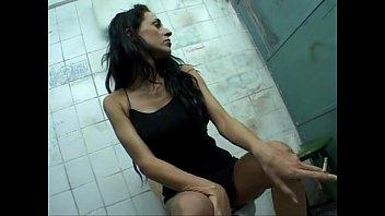 Celia Jones - dark toilet fuck