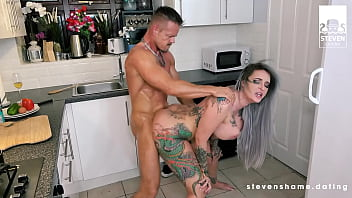 ANAL: Forget about dinner! Alexxa Vice wants the cock in every hole! StevenShame.Dating 14 min