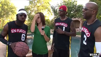 Sample penetration test report Wankz- hot reporter gang-banged by basketball team