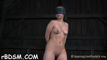 Sign up for porn Beauty doesnt know what lusty torture that babe just signed up for