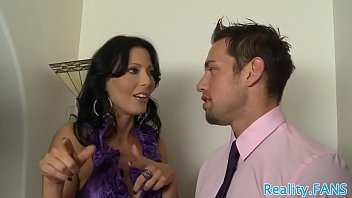 Real MILF queened while getting banged