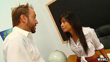WANKZ  Ruby Reyes Seduces Her Professor