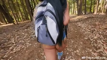 Pawg Thickie Blows Cock Riverside In The Nature