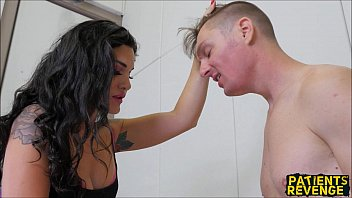 Brutal Ball Busting Nurse