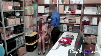 Hot Redhead Teen Taught A Lesson For Stealing- Scarlette Mae