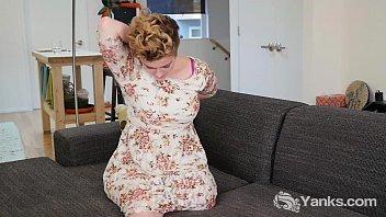 Short Haired Beauty Megan Masturbating