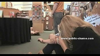 Bdsm library stories story Bitch gets humiliated in public library getting filled with toys and fucked