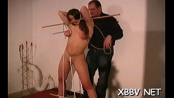 Worldsex bondage Amateur gets cookie ravished during breast bondage xxx