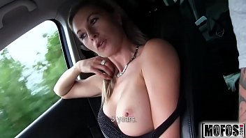 Hot Blonde Hitchhiker video starring Alena - Mofos.com