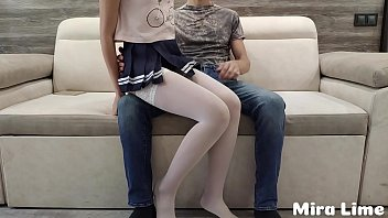 Dad punished his submissive sweet daughter after school