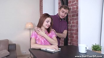 Sell Your GF - Coed Nora Star fucked for student loan teen porn