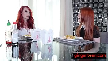 Redhead lesbians engage in really hot sex after switching bodies