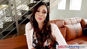 Pervy Latina MILF Gives Her Step Son Head - Ariella Ferrera