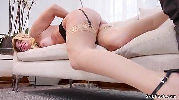 Bf bangs gf and anal fucks her step mom