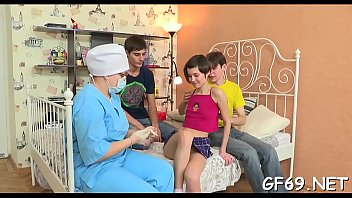 Lucky chap gets to play with 2 young and hot chicks