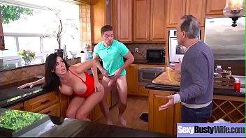 Gorgeous Bigtits Wife (Reagan Foxx) Enjoy Hardcore Sex Scene On Tape video-19