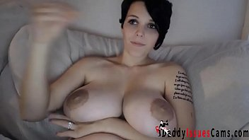 Huge german dildo German babe with huge tits masturbates with dildo - daddyissuescams.com