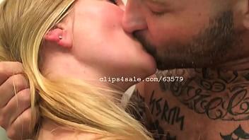 Cyrus and Diana Kissing