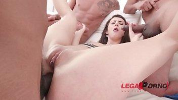 Lina Luxa balls deep anal fucking & DAP with 0% pussy SZ2127