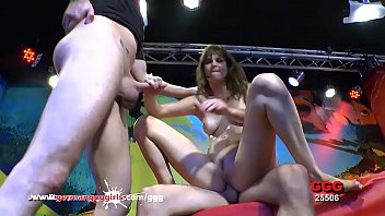 Double penetration huge cock tight pussy Double vaginal for hottie luisa babe - german goo girls