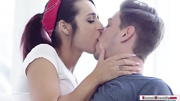 Horny TS licked and ass fucked by her bf